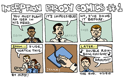 inception parody comics #1