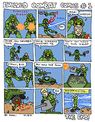 evolved combat comics #1