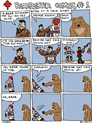 bearfighter comics #1