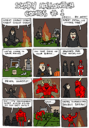 scary halloween comics #1