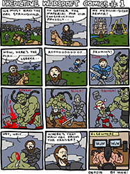 movie prediction comics: warcraft