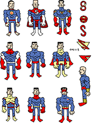 superman redesigns