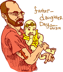 father daughter day