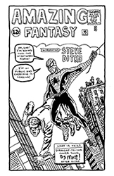 spider-man straight-to-ink cover song from amazing fantasy #15