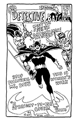 batgirl straight-to-ink cover song from detective comics #359