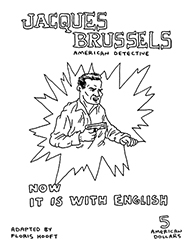 jacques brussels, american detective. adapted from lex brand: de zwarte jonk