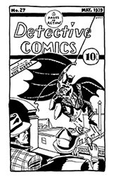 batman straight-to-ink cover song from detective comics #27